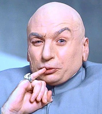 Dr. Evil ... the head honcho evil man