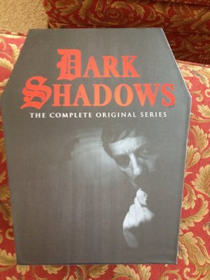 Dark Shadows DVD Box - a cool coffin with Barnabus