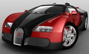 Bugatti Veyron - Damien Stark's car in Release Me