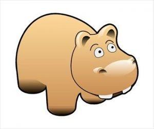 Hippo clip art