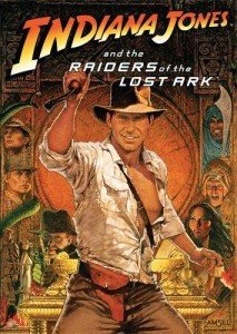 Raiders of the Lost Ark Poster featuring Harrison Ford as Indiana Jones