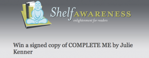 Shelf Awareness Complete Me contest