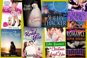 Hump Day books from Dee Davis, Shelly Thacker, Tina Russo, Lauren Royal, E.M. Abel, Marilyn Brant, Edie Ramer and a Romance Super Bundle boxed set!